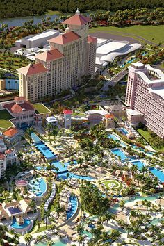 Overview Exterior of Grand Hyatt Baha Mar, Bahamas Bahamas Resorts, Bahamas Honeymoon, Bahamas Vacation, Nassau Bahamas, Hotels And Resorts, Vacation Trips, Luxury Hotels, Dream Vacations, Vacation Ideas