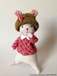 Coelhinho bem vestido | MEU MUNDO CRAFT