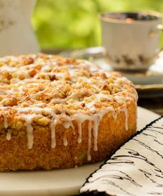 Apricot Buttermilk Coffee Cake