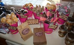 cowgirl party favors @Megan Williams  you will wanna do this for your little girl someday!