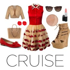 """""""Red Sun"""" by clauzzenlms on Polyvore"""
