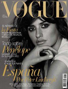 Penélope Cruz by Peter Lindbergh Vogue España December 2010