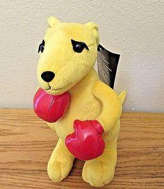 "The Boxing Kangaroo - Official Licensed Product Plush  11"" Plush animal #TheBoxingKangaroo"