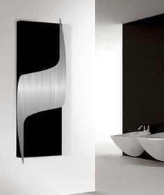 Radiadores con estilo del diseñador.Radiador vertical de la sala de estar para la sensación y el diseño, diseño enérgico en la pared.Sensacional e impresionante para las salas de estar exclusivas.750 x 2000 x 135