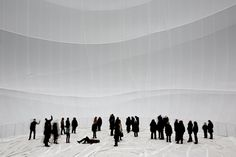 Christo Unveils Inflatable, Light-Infused Installation in Germany