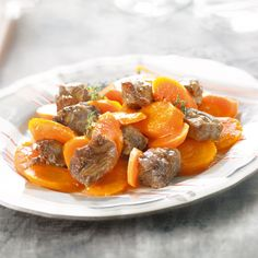WeightWatchers.fr : recette Weight Watchers - Bœuf braisé aux carottes