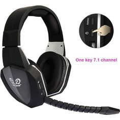 866c2f8abd9 HUHD 2018 New wireless headphone Optical Wireless Gaming Headset for XBox  360/one,PS4