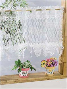 The Big Bold Chevron Curtain is the perfect crochet curtain ...