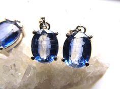 AAAAAclass kyanite pendant  from Republic of Kenya AAAAAclass ★ oval-cut ★ vertical about 8mm ★ SILVER925 special price ¥ 9800