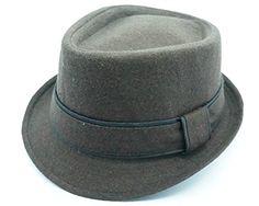 Bruno Capelo Headwear Wool Blend Fedora Hat FD-123/5 (Large, Brown) Bruno Capelo http://www.amazon.com/dp/B011SFN8UY/ref=cm_sw_r_pi_dp_olyTvb0VPC8MQ