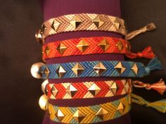 studded friendship bracelets