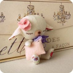 Lullaby Lamb pdf Pattern  Instant Download by Gingermelon on Etsy, $6.50