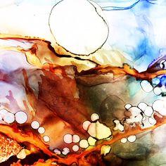 January Mastering Alcohol Inks with Susan Gantz Clay Classes, Alcohol Inks, Mixed Media, Alexandria, Art Ideas, September, Watercolor, Garden, Pen And Wash