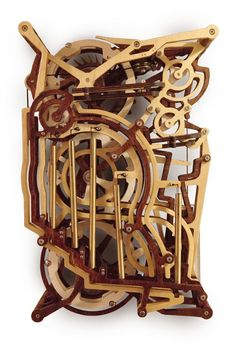 Kinetic Art Woodworking Plans by Derek Hugger