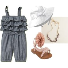 Casual baby girl outfit...