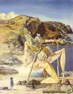 DALÍ. El espectro del sex-appeal. 1931. Surrealismo onírico.