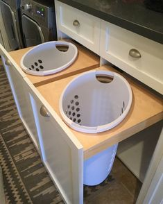 Laundry room great idea laundry room storage hidden hampers pull out hampers interior design home decor decorating ideas