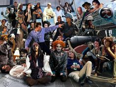 Johnny Depp's characters! Great!