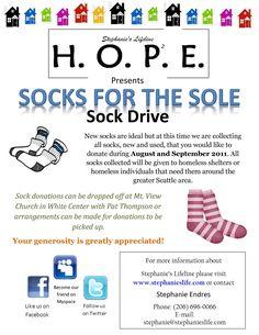 9 amazing socks drive for the homeless images lent 2016 sock socks rh pinterest com
