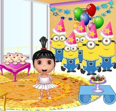 Play Agnes Birtday Party game! We offer hundreds of new minion game and ratings it, making it easy for gamers to find new games every day.