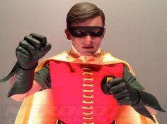 The Hot Toys Robin Sixth Scale Figure (1960s Version) #batman #robin #comics #batmantvseries #geek