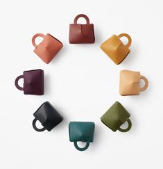 Nendo Creates a Bag Made From a Piece of Laser-Cut Leather Laser Cut Leather, Leather Case, Store Fixtures, New Handbags, Japanese Design, Leather Design, Tote Purse, Online Bags, Laser Cutting