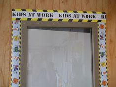 Photos, ideas & printable classroom decorations to help teachers plan & create an inviting construction themed classroom on a budget. Lots of free decor tips & pictures. Classroom Door, Classroom Themes, Construction Theme Classroom, Themes Free, Class Activities, Dramatic Play, Working With Children, Teaching Materials, Elementary Teacher