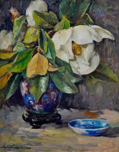 ayhan türker ile ilgili görsel sonucu Life Paint, Classic Paintings, Magnolias, Still Life, Art, Flowers, Magnolia Trees, Art Background, Kunst