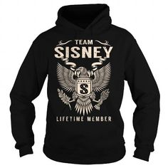 Cool Team SISNEY Lifetime Member - Last Name, Surname T-Shirt Shirts & Tees