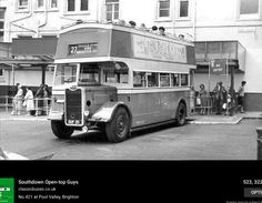 Waiting to leave. Brighton Sussex, Brighton Rock, Brighton And Hove, South East England, Bus Coach, Home Again, Bus Station, Timeline Photos, Public Transport
