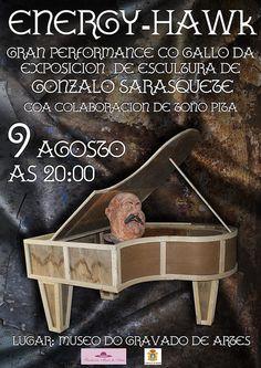 Ribeira: este venres 9 de agosto, performance no Museo do Gravado de Artes | Flickr: Intercambio de fotos. 2013