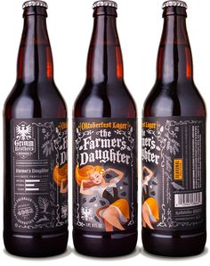 Grimm Brothers Brewhouse Farmer's Daughter Oktoberfest - designed by Emrich Office