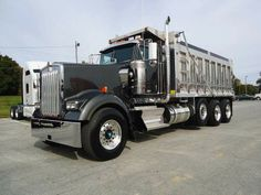 dump trucks for sale | NEW 2013 KENWORTH Dump Truck W900L for sale