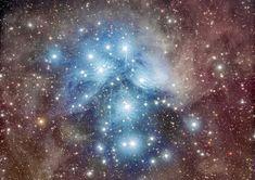 Bildergebnis für Pleiades Star Cluster