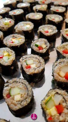 Quinoa Nori-Rolls - vegan