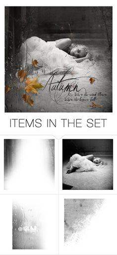 """""""when the leaves fall"""" by sharmarie ❤ liked on Polyvore featuring art"""