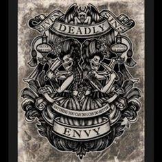 Envy, Print by Se7en Deadly