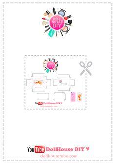 Realistic Miniature iPhone 6S (Rose Gold) Tutorial!  DollHouse DIY ♥