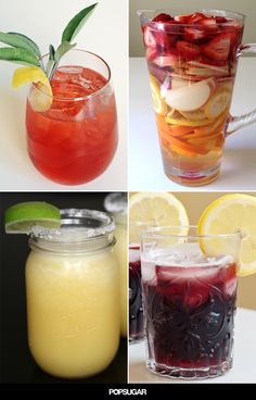 Summer patio parties call for pitchers of sangria to pass around. For punch newbies, this alcoholic drink is usually made with wine mixed with fresh fruit and juice and served over ice. It's that simple, but if you need some flavor combinations, then here are some recipes to start you off.