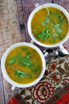 Butternut Squash and Kale Soup #recipe