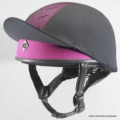 """Just when you thought riding couldn't get any """"cooler."""" The Charles Owen Pro II has ventilation holes in the front and rear for maximum airflow and ultimat. Horse Riding Helmets, Horse Riding Clothes, Equestrian Outfits, Equestrian Style, Equestrian Fashion, Skull Cap Helmet, Equestrian Supplies, English Riding, Profile"""
