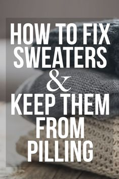 Once And For All, Here's How To Prevent Sweaters From Pilling Solutions Boho Fashion, Fashion Beauty, Autumn Fashion, How To Get Rid, How To Remove, Boho Trends, Beauty Magazine, All About Fashion, Balls
