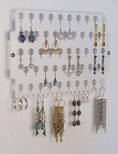 Earring Angel Earring Holder Wall Jewelry Organizer Closet Jewelry Storage Rack | eBay