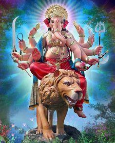 Image may contain: one or more people Ganesh Lord, Shri Ganesh, Ganesha Art, Krishna Art, Shiva Parvati Images, Shiva Hindu, Hindu Art, Hindu Deities, Ganesh Chaturthi Images