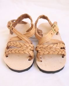 Leather Sandal-Trenza