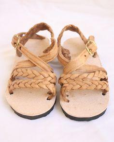 Leather Sandal-Trenza