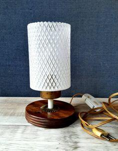 Tafellamp 50s midcentury tafellamp van FunkyPastPresents op Etsy