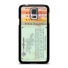 WORLD DISNEY TICKET BOOK Samsung Galaxy S5 Case Cover  Vendor: Favocase Type: Samsung Galaxy S5 case Price: 14.90  This luxury WORLD DISNEY TICKET BOOK Samsung Galaxy S5 Case Cover shall generate impressive style to yourSamsung S5 phone. Materials are manufactured from durable hard plastic or silicone rubber cases available in black and white color. Our case makers personalize and produce every case in best resolution printing with good quality sublimation ink that protect the back sides and… Disney Tickets, You Are Wonderful, Best Resolution, Black And White Colour, Silicone Rubber, Samsung Galaxy S5, How Are You Feeling, Printing, Cases