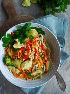 Lun og rask kylling curry