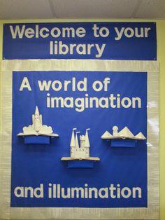 Lorri's School Library Blog: Fall Library Bulletin Board -- Fall in Love with R...